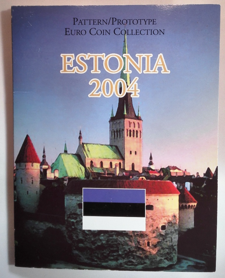 ESTONIA 2004 EURO -  PROBE /  TRIAL COIN